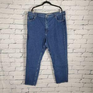 Asos Denim High Rise Tapered Jeans